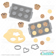 Cookies 'n' Muffins SVG File