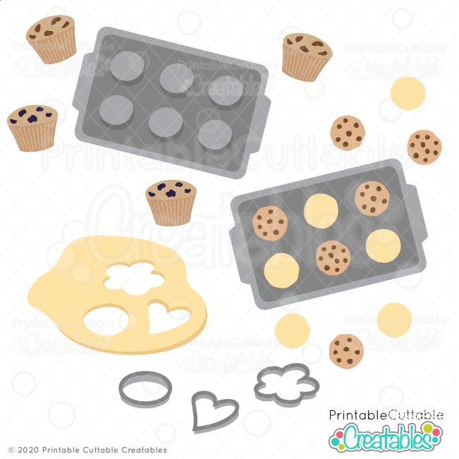 Cookies 'n' Muffins SVG File