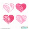 Heart Mandala SVG Set