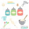 Baking Ingredients SVG Bundle