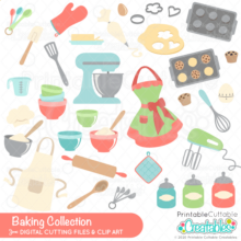 Baking Collection SVG Bundle