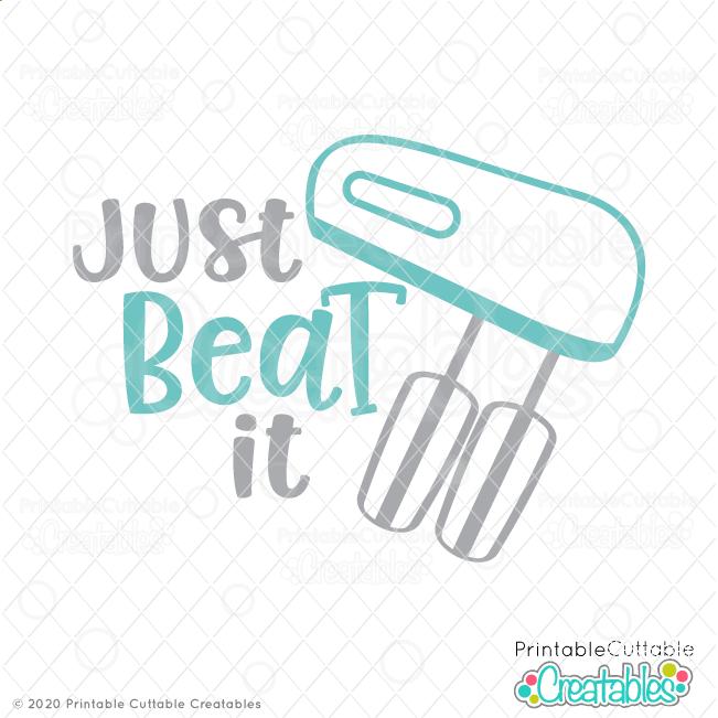 Just Beat It SVG File