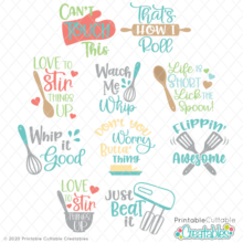 Kitchen SVG Files Bundle