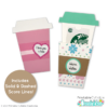 Coffee Cup Gift Card Holder SVG File