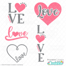 Bundle of Love Free SVG Files