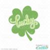 Lucky Clover SVG File