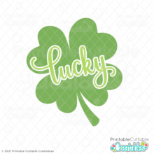 Lucky Clover SVG File
