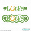 Lucky SVG File Title