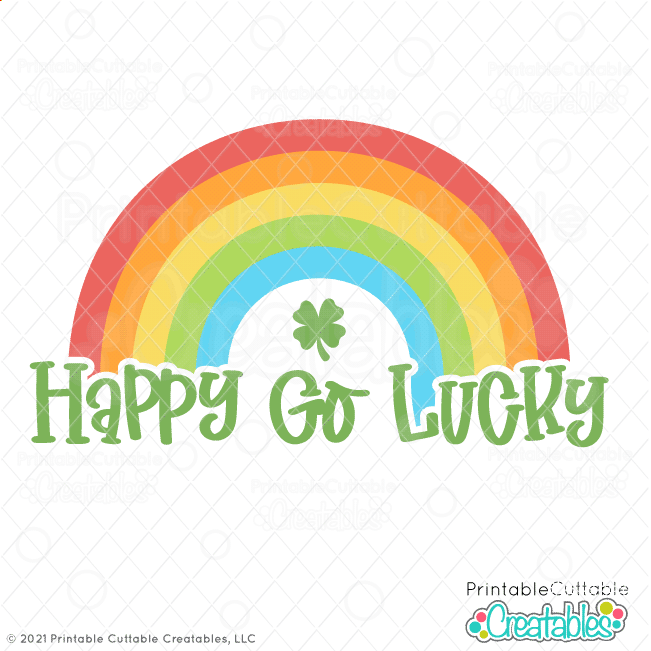 Happy Go Lucky SVG File