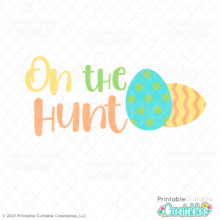 On the Hunt SVG File