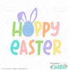 Hoppy Easter Free SVG File