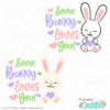 Some Bunny Loves You SVG File