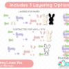 Some Bunny Loves You Layered Easter SVG File