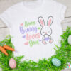 Some Bunny Loves You SVG File T-shirt Idea
