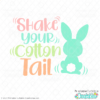 Shake Your Cotton Tail Free SVG File