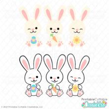 Bunny Squad SVG File