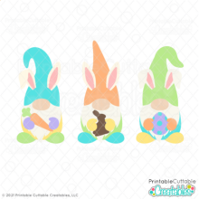 Easter Gnomes SVG File