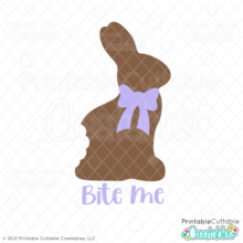 Bite Me Bunny SVG File