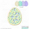 Free Easter Egg Layered SVG File