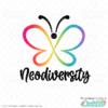 Neurodiversity Butterfly SVG File