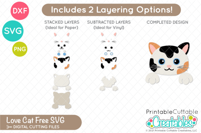 Peekaboo Cat SVG Files