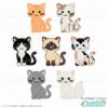 Sitting Cat SVG Bundle