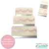 Wedding Cake Gift Card Holder SVG File