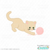 Pouncing Cat SVG File for Cricut & Silhouette
