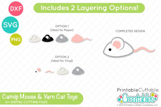 Kitten Toys SVG