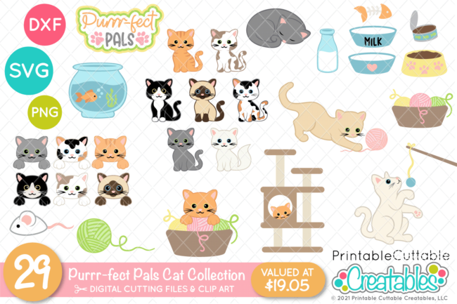 Cat Lovers SVG Bundle