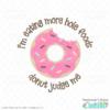 Donut Judge Me Free SVG File for Cricut & Silhouette