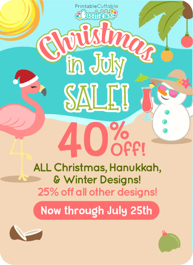 Christmas in July 2021 SVG Sale