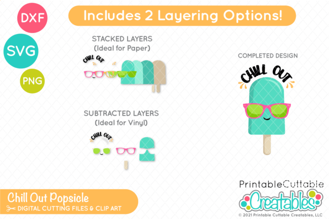 Cute Popsicle SVG