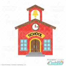 School House SVG File