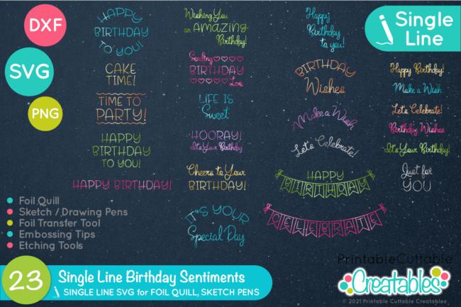 Birthday SVG Set