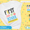 Free First Day of School SVG