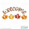 Welcome Fall Free SVG File