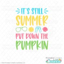 Still Summer SVG File