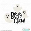 Boo Crew Free SVG File