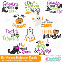 Be-witching Halloween SVG Bundle