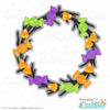 Halloween Candy Wreath SVG File