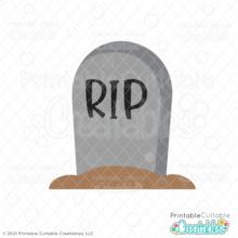 Tombstone SVG Free