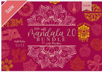 Mandala SVG Bundle 2 Commercial Use
