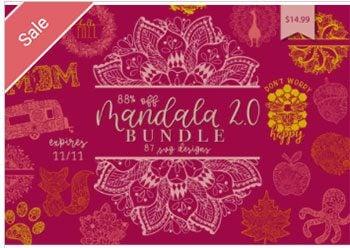 Mandala SVG Bundle 2 Commercial Use